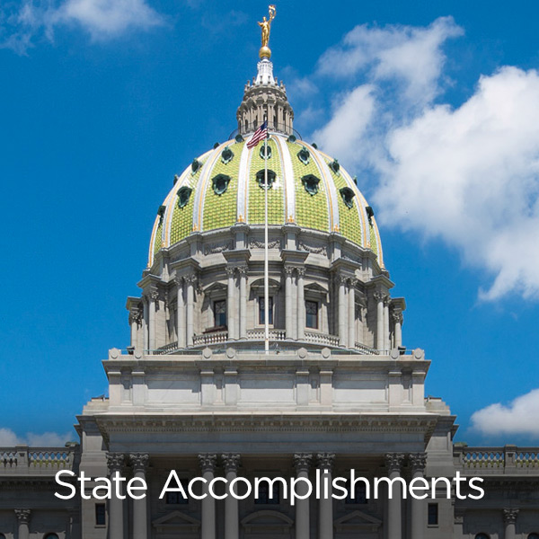 Greater Pittsburgh Chamber of Commerce 2017 Year in Review State Accomplishments